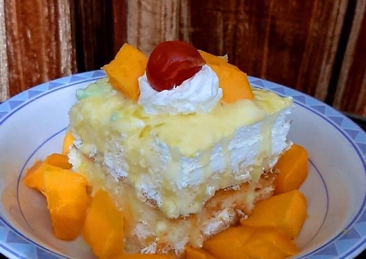 Easy Thai Mango Cake❤🥭