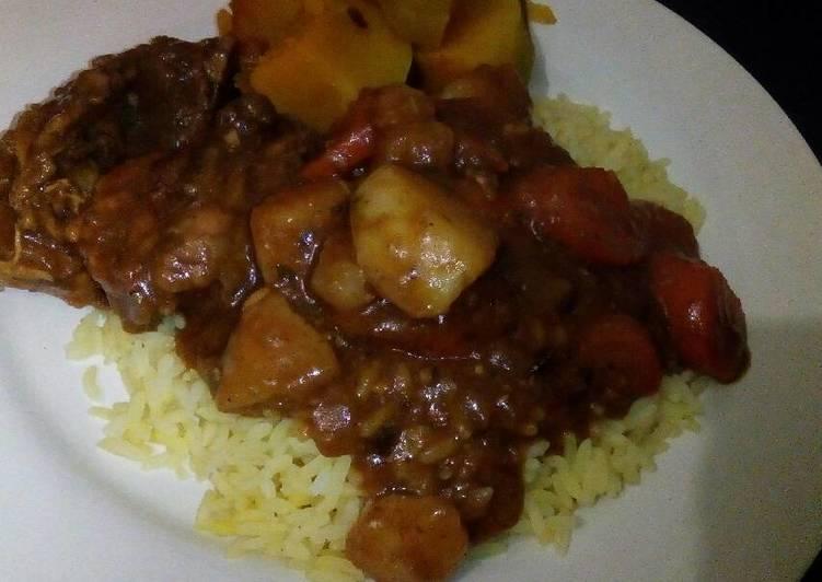 Vegetable chicken stew