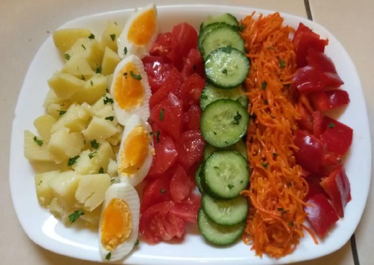 Salade pour régime
