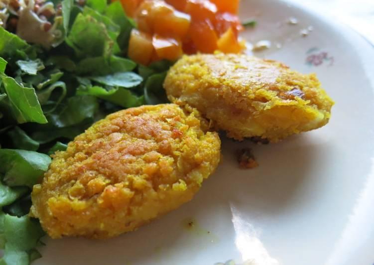 Recipe: Yummy Croquettes de lentilles corail