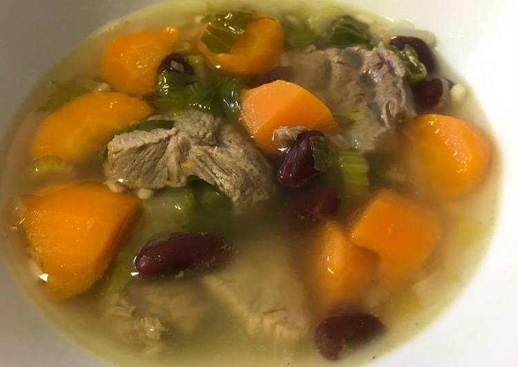 Any-night-of-the-week Red Bean and Beef soup