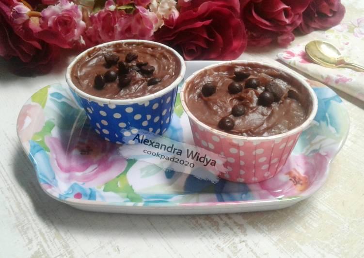 Chocolate Mousse Cake Versi Ekonomis