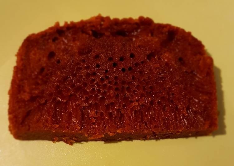 resep menyajikan Bolu Karamel - Sajian Dapur Bunda