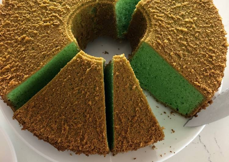 Pandan Chiffon Cake Recipe By Daisy Cookpad
