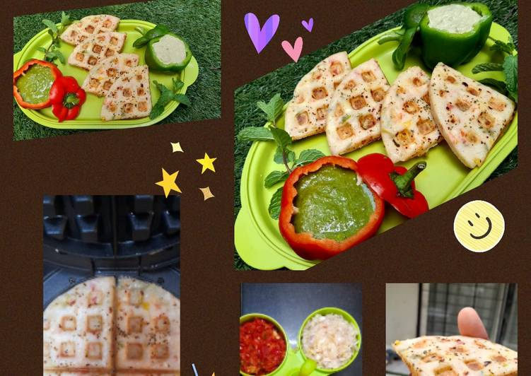 How to Make Favorite WAFFLES uttapam