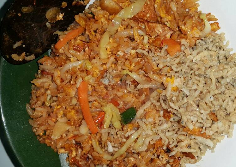 Resep 72 FCL-Anak Kos Nasi Goreng Sayur Bikin Jadi Laper