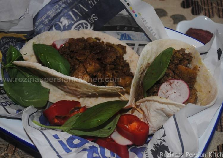 Eggplant Kebab بادمجان کباب