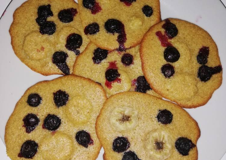 Cookies plats aux fruits