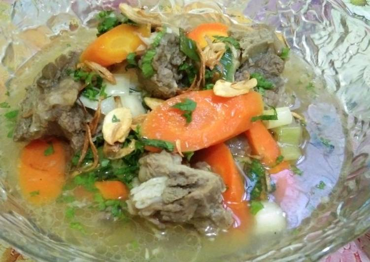 Sop buntut sapi mix #made by me