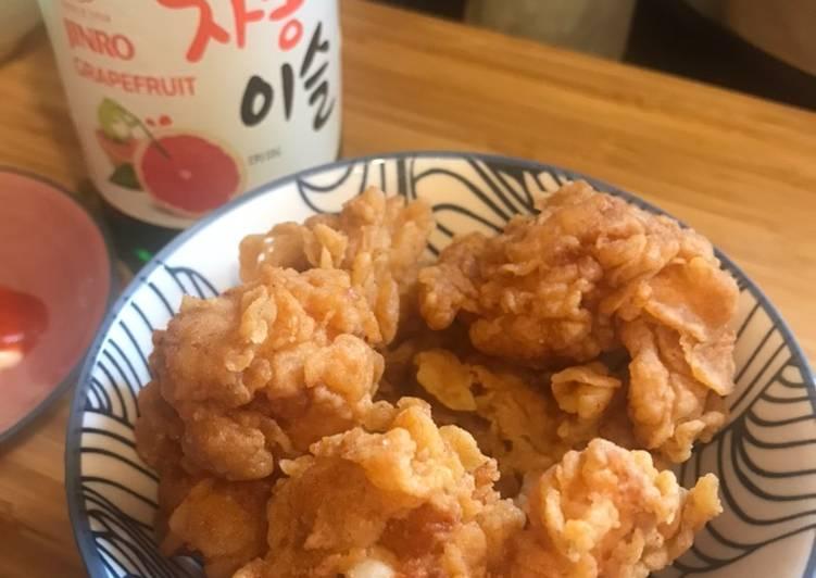 Easiest Way to Make Ultimate Crunchy spicy Prawn