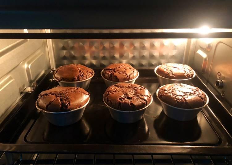 Muffin coklat Ekonomis 1 butir telur saja