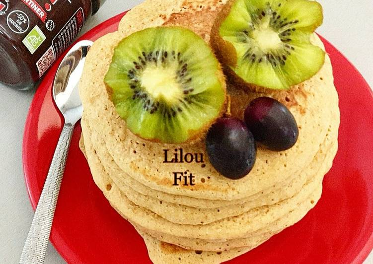 Recette Délicieux Pancakes moelleux healthy