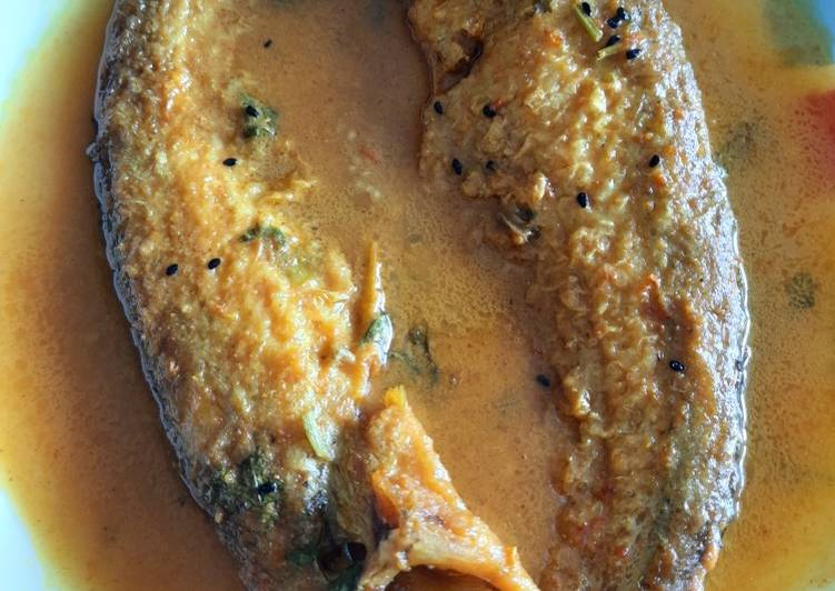5 Minute Simple Way to Make Spring Pabdha Fish Curry