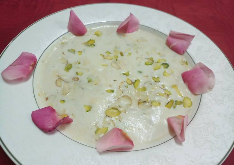 Hearty Comfort Dinner Easy Blends Shahi Thandai Rabdi
