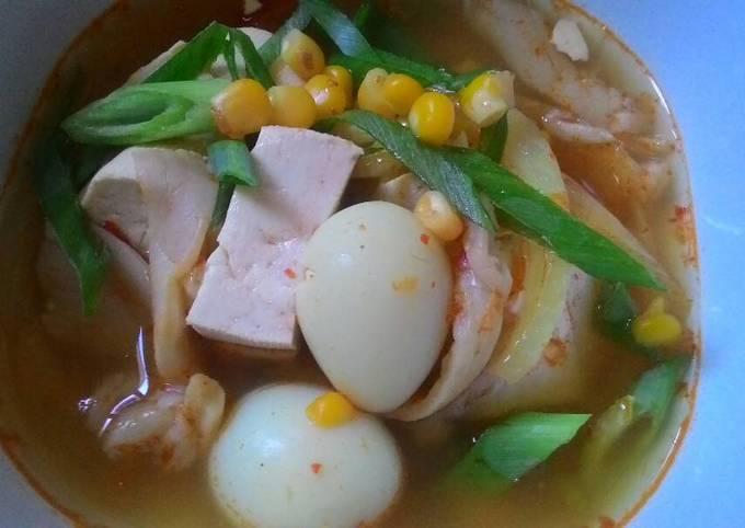 Sup Tahu ala Korea