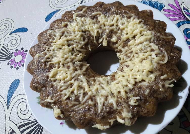 Resep Bolu pisang kukus keju (tanpa mixer) yang Sempurna