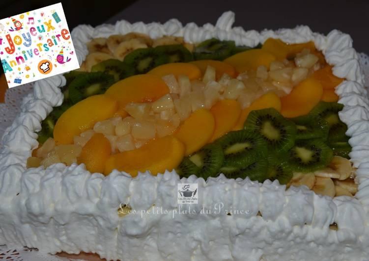 Recette Savoureux Gâteau Tutti Frutti