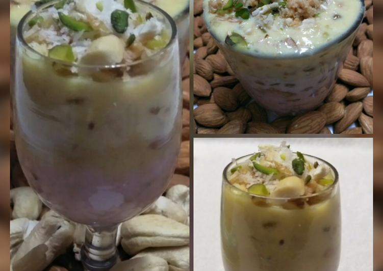 The Best Dinner Ideas Super Quick Homemade Tricolor Mawa Sago Delight