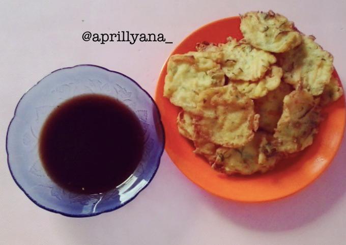 Bakwan + Cuko Palembang