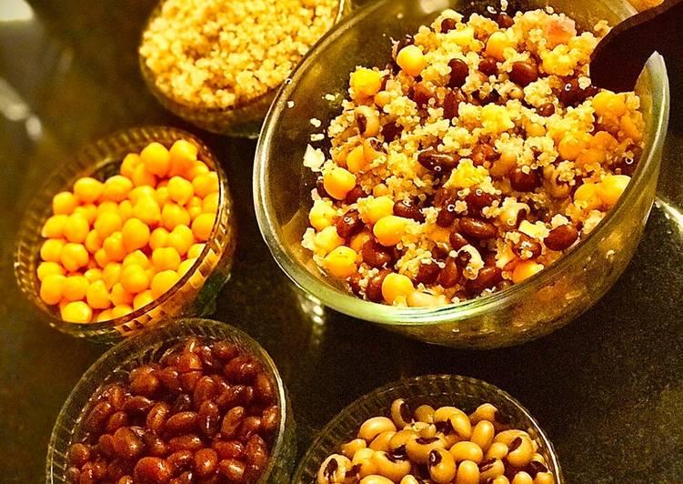 Quinoa beans salad