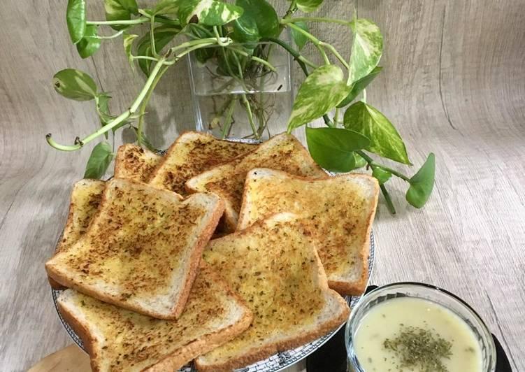 Resep Garlic Bread ala Chef Turnip Terenak