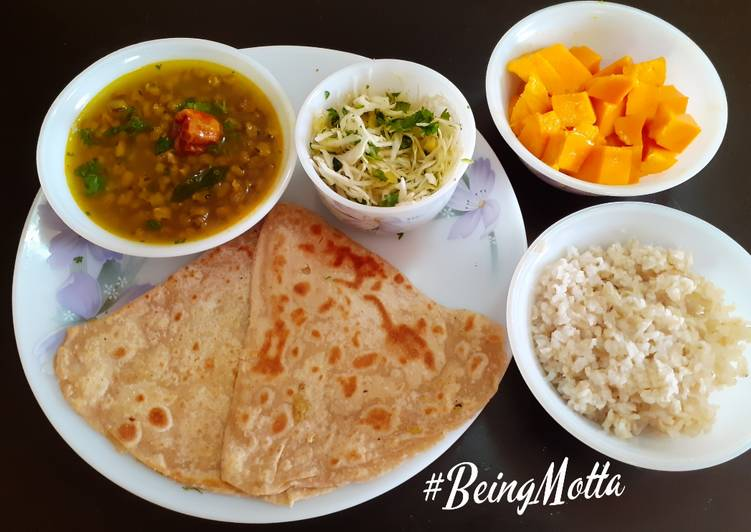 Step-by-Step Guide to Prepare Award-winning Veg lunch Thali -2