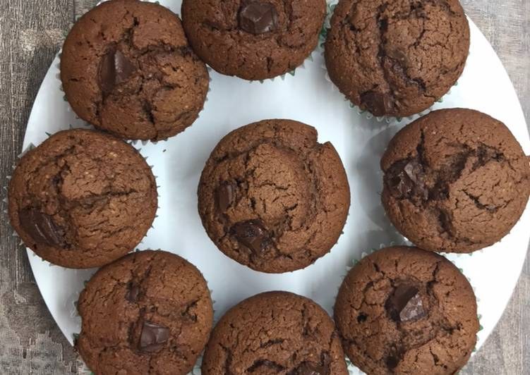 Muffins inratables au chocolat