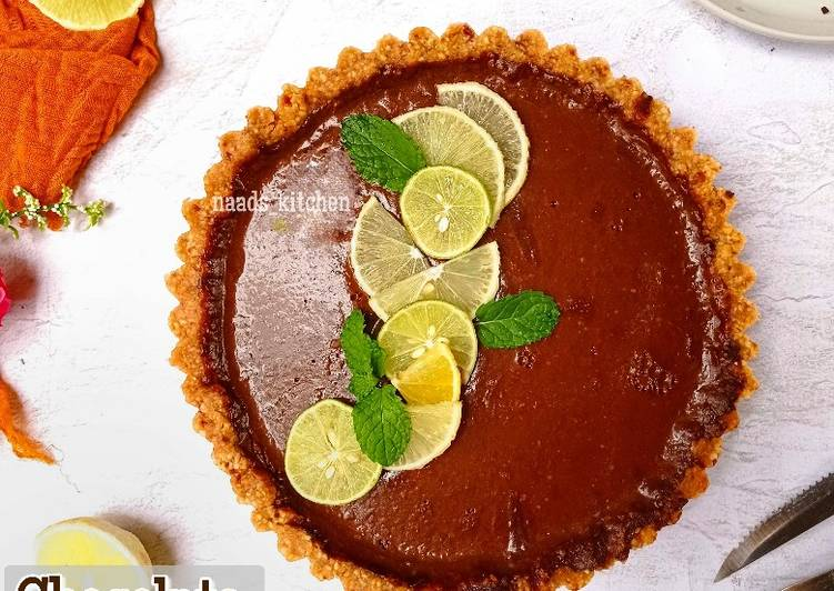 Resep Chocolate Lemon Tart Vegan Oleh Naads Kitchen Cookpad