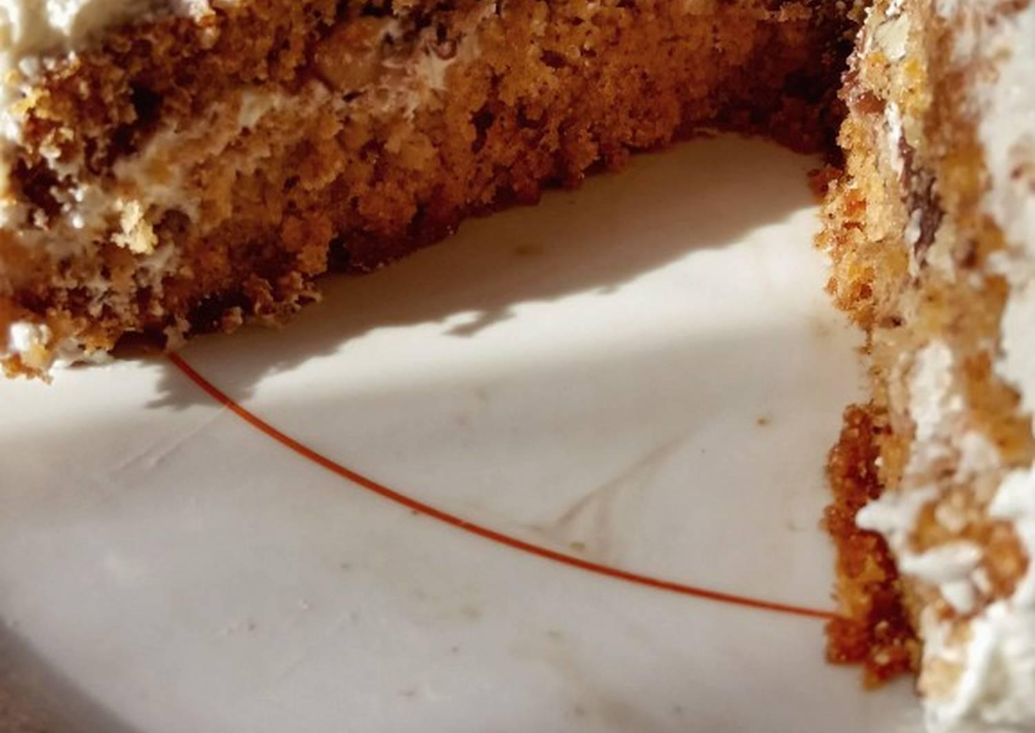 Морковный бисквит рецепт с фото