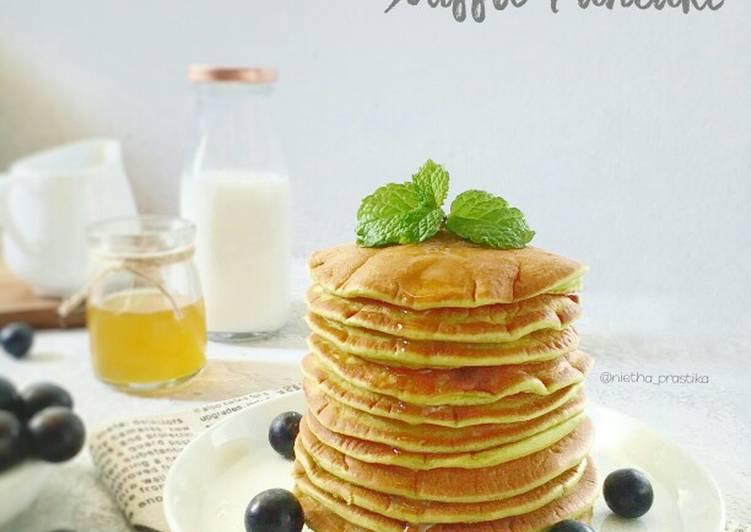 Japanese Matcha Souffle Pancake