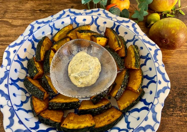 How to Make Favorite Pumpkin with Mayo Cheese Sauce