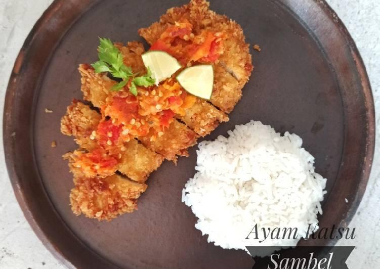Ayam Katsu Sambal Korek