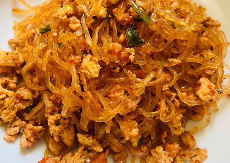 Cara membuat Samyang Shirataki (Mie Diet Rendah Kalori)