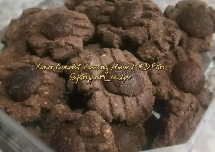 Kuker Cokelat Kacang Almond ala Dapur Fitri