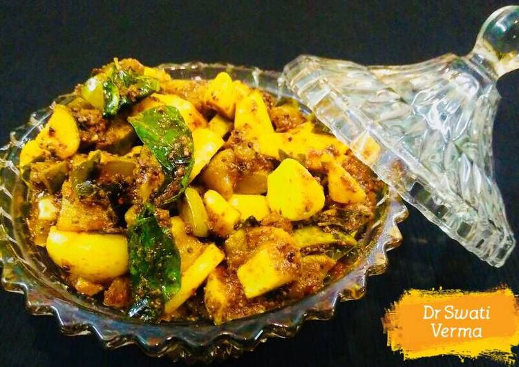 Top 100 Dinner Easy Blends Kerala style mango pickle