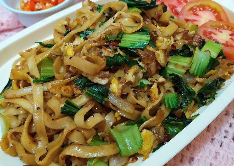 Kwetiau goreng super simple