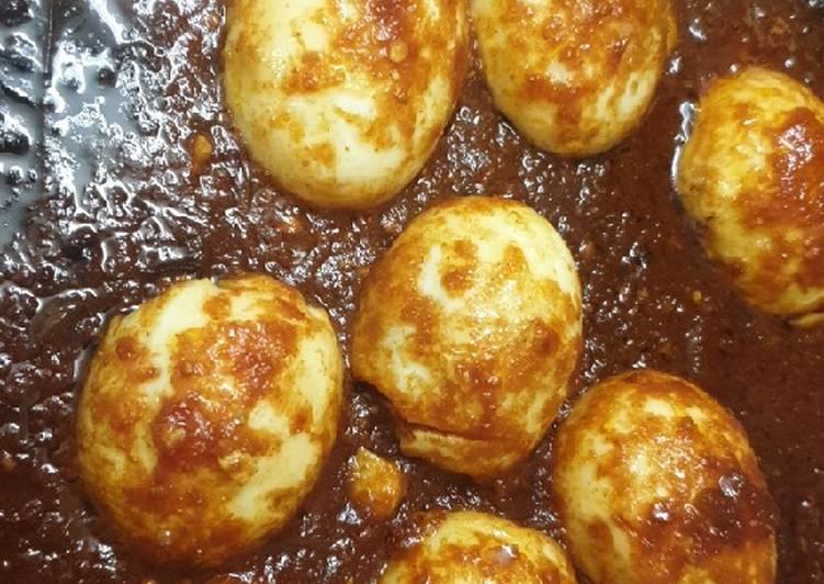 بيض وصلصة الصويا