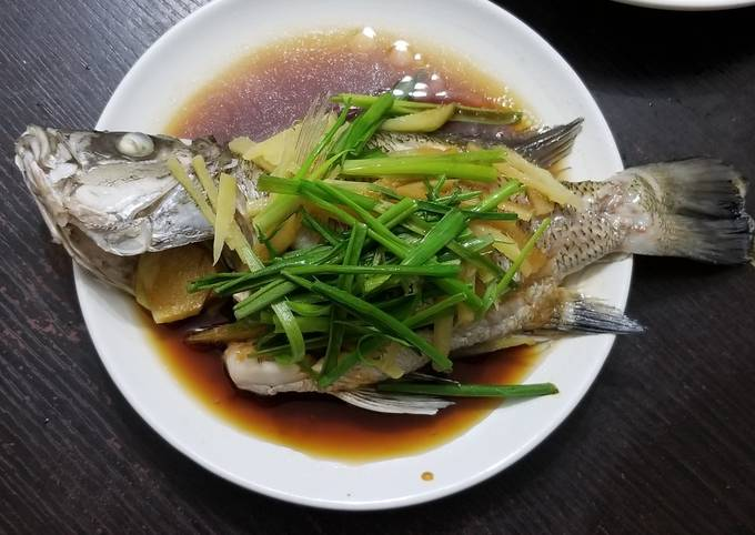 Easiest Way to Prepare Favorite Traditional Chinese Style Steamed Fish