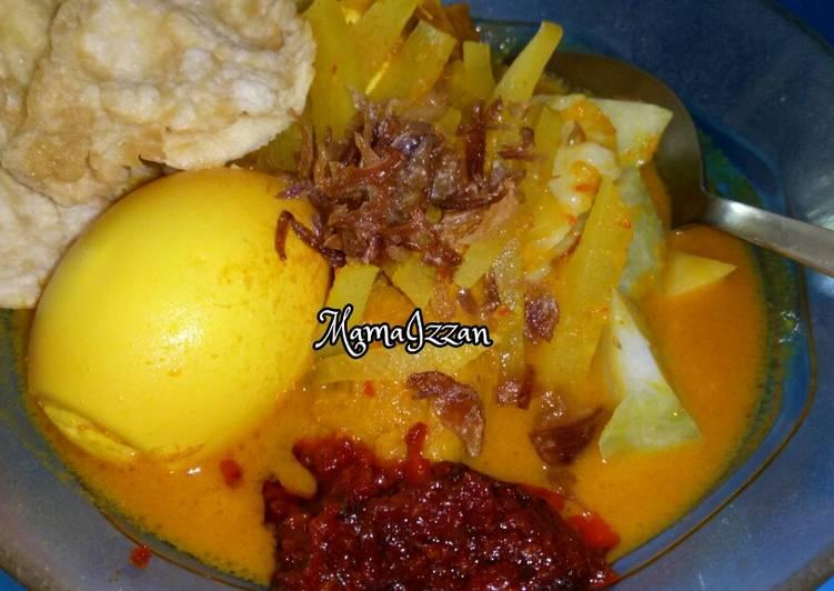 Gulai Labu Siam(untuk lontong sayur/ketupat)