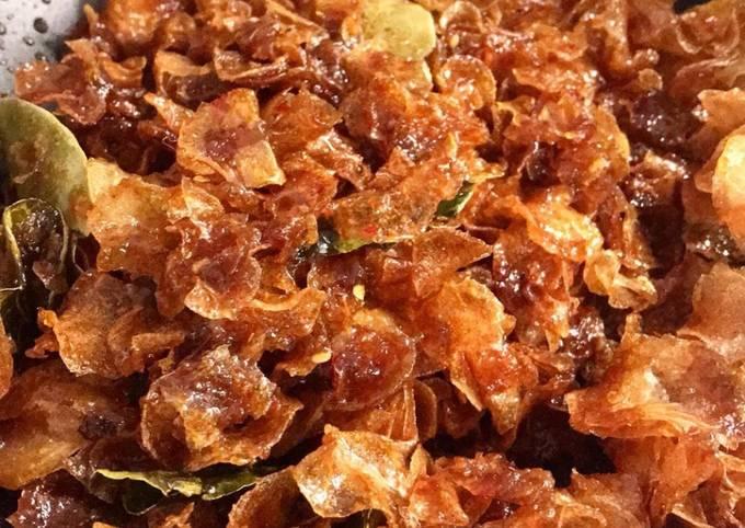 Homemade Sweet Spicy Potato Crisp