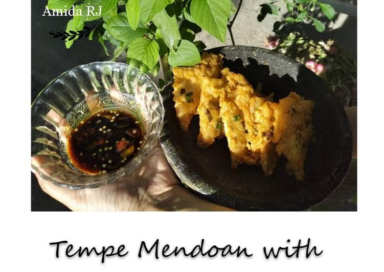 Tempe Mendoan with Sambal Kecap