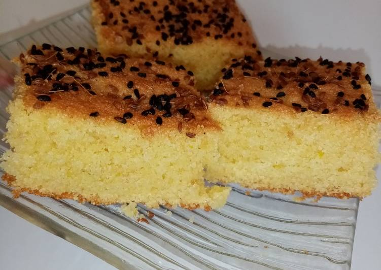 Recette Des Gâteau semoule