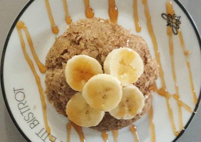Bowlcake végan pomme banane
