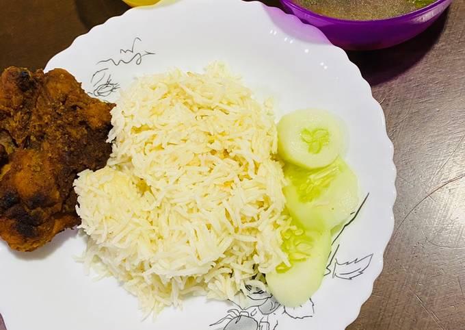 Nasi Ayam Basmathi Simple