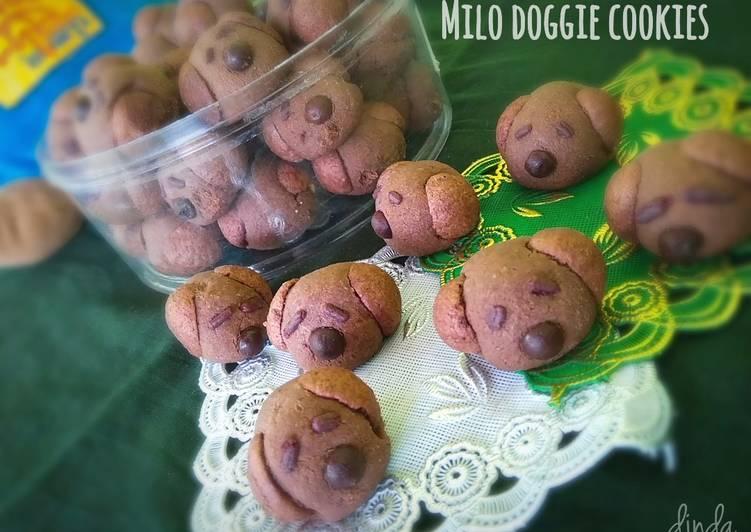 Milo doggie cookies