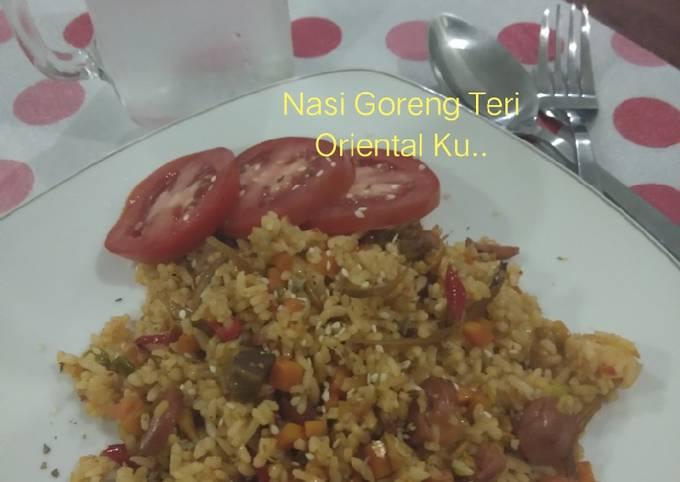 Nasi Goreng Teri Oriental