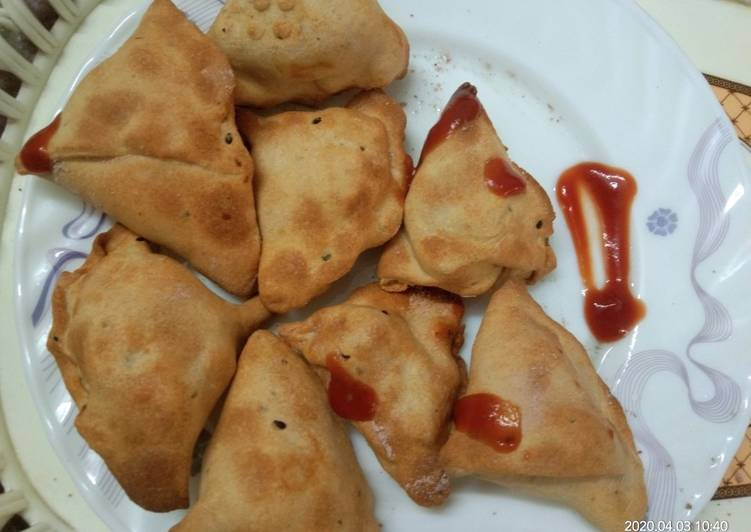 15 Minute Step-by-Step Guide to Make Cooking Air Fryer Poha Samosa