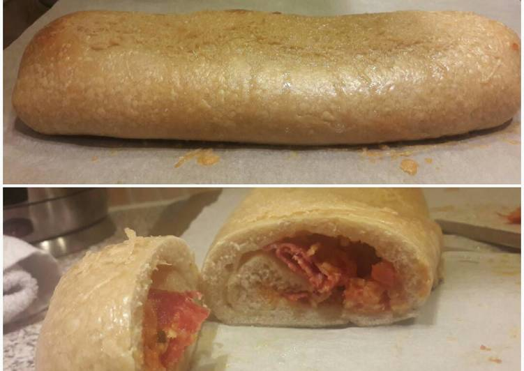 How to Make Appetizing Robin's Pepperoni Roll/Pizza Crust