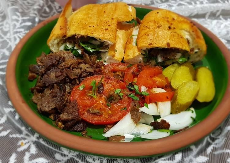 Braised meat sandwich #mycookbook