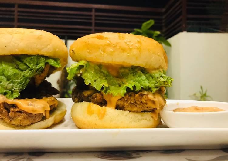 Steps to Make Ultimate Crispy Zinger Burger